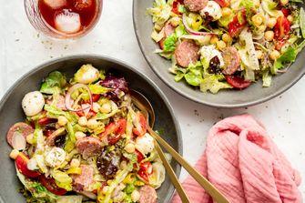 Beroemde Italiaanse salade van Nancy SIlverton