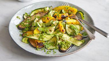 Vegan salade: simpele pestosalade