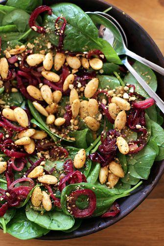 Salade met dadels