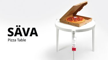 Ikea Pizza-tafel