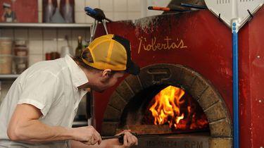 Pizza in New York bij Roberta's