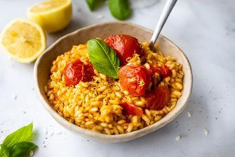 tomatenrisotto met citroen