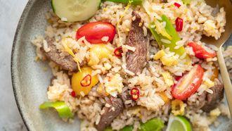 Thaise gebakken rijst