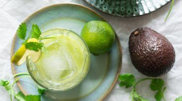 margaritas met avocado