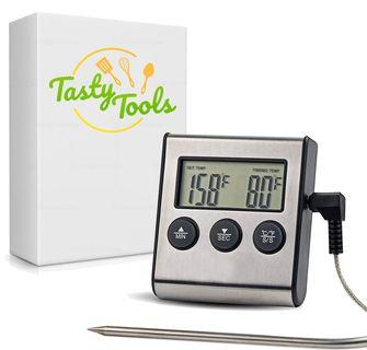 Tasty tool suiker en vleesthermometer
