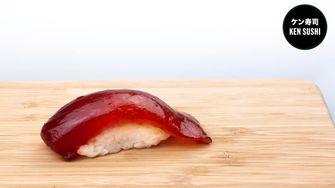 Sushi met tonijn van Ken Sushi
