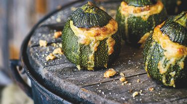 Courgettes bbq recept