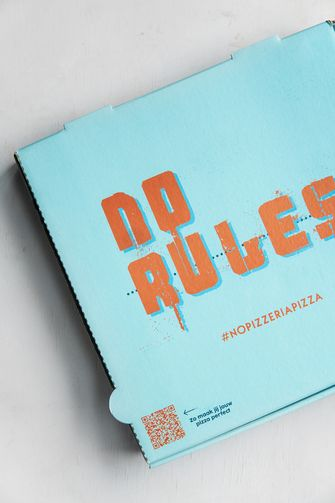 No Rules pizza