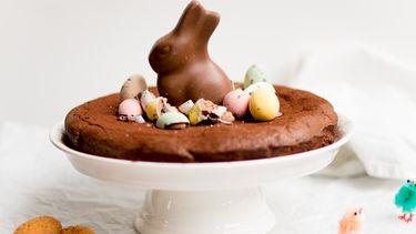 Makkelijke paastaart met chocolade