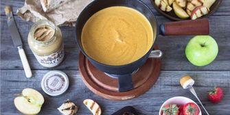 pindakaas fondue bar