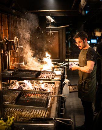 kok kookt met flambadou