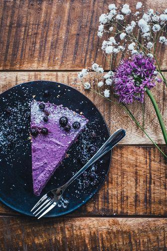 Wildgroei taart vegan