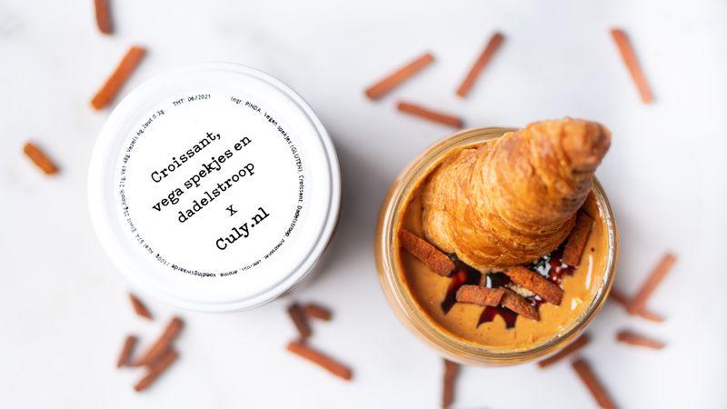 Culy pindakaas croissant