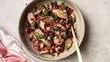 Winterse salade met aardpeer