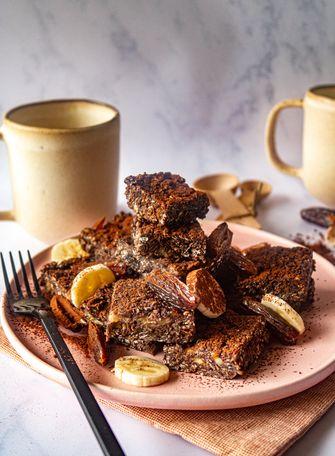 Breakfast brownie