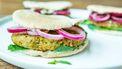 Falafelburgers recept