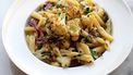 vegetarische pasta met bloemkool