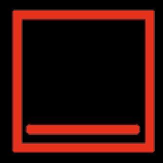 oven symbool onderwarmte