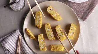 Japanse omelet maken