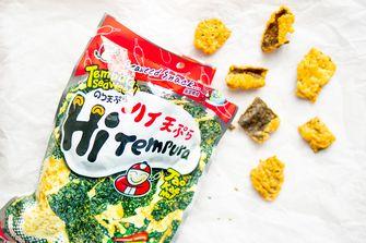 Nori tempura snack