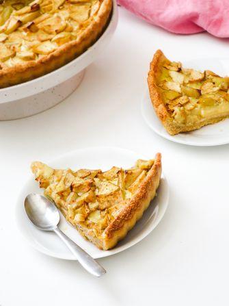 vegan appeltaart