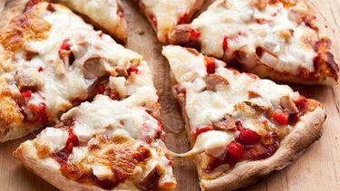 diepvries pizza in stukjes