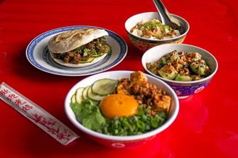 vegan Chinees eten