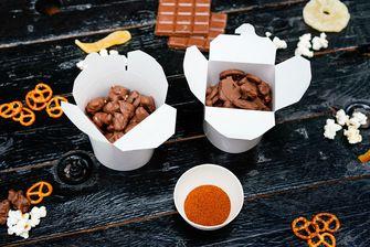 Milka snacking box