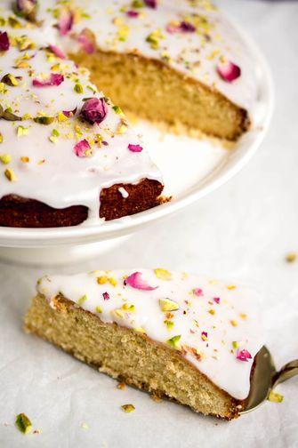 Heerlijke valentijn taart: Perzische liefdestaart