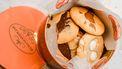 Het Koekemannetje koektrommel met koekjes