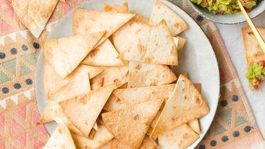 Zelf tortillachips maken