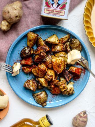 patatas bravas van aardpeer