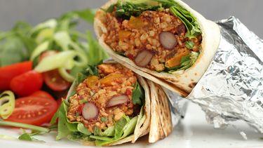 vegan burrito's