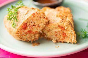 Thaise krab omelet van Jay Fai