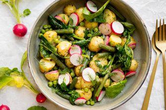 Aardappelsalade lente