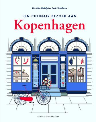 cover kookboek een culinair bezoek aan kopenhagen