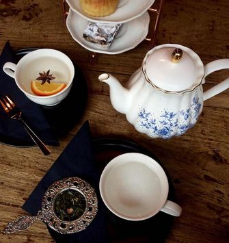 Lewis eigen high tea samenstellen
