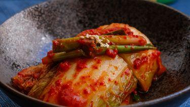 vinaigrette van kimchi