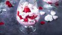 Valentijnstoetje met ricotta, frambozen en schuimpjes