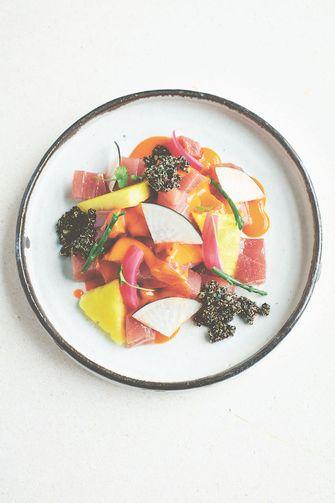 Ceviche van tonijn
