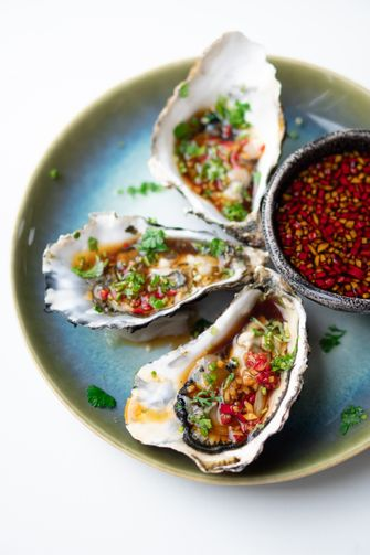 Oesters Balinese dressing