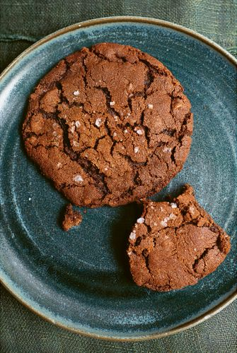 Zoet-zoute chocolate cookies