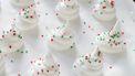 meringue kerstboompjes