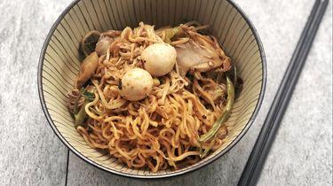 super dry cold noodles