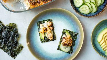 Sushi ovenschotel