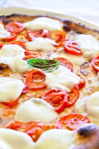 zelfgebakken pizza