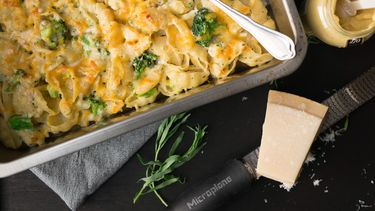 snelle mac and cheese met broccoli
