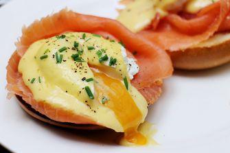 eggs benedict met zalm