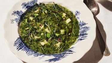 Broccoli-spinaziesoep van Yvette van Boven