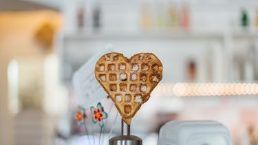 wafel zondere topping